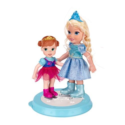 Набор кукол Принцессы Дисней. Холодное Сердце на катке