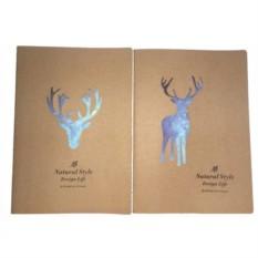 Скетчбук Star deer