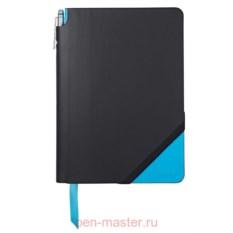 Записная книжка Cross Jot Zone (цвет: черный, голубой)