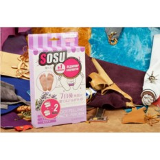 Японские педикюрные носочки SOSU с ароматом лаванды