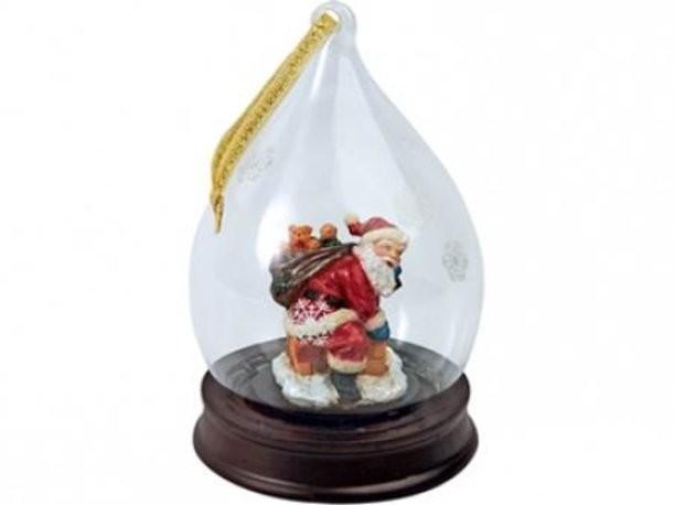Новогоднее украшение Дед Мороз с полным мешком игрушек