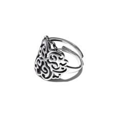 Кольцо с орнаментом (серебро)