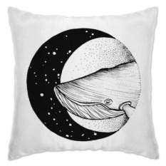 Подушка Кит в космосе