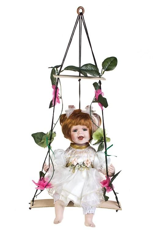 Фарфоровая кукла Рыженькая малышка