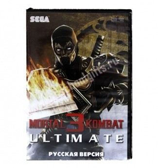 Картридж для Sega - игра Mortal Kombat 3 Ultimate