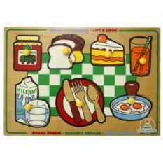 Рамка со вкладышами «Завтрак»