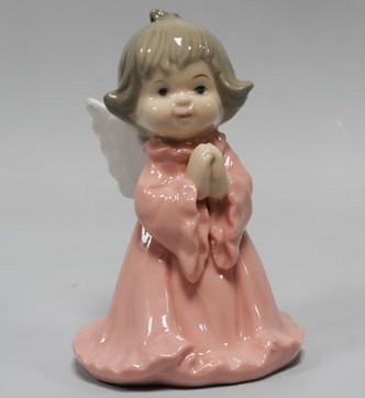 Статуэтка «Ангелочек в розовом»