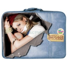 Наклейка на чемодан Стюардесса