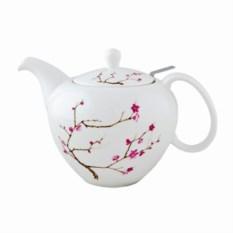 Фарфоровой заварочный чайник Цветущая сакура