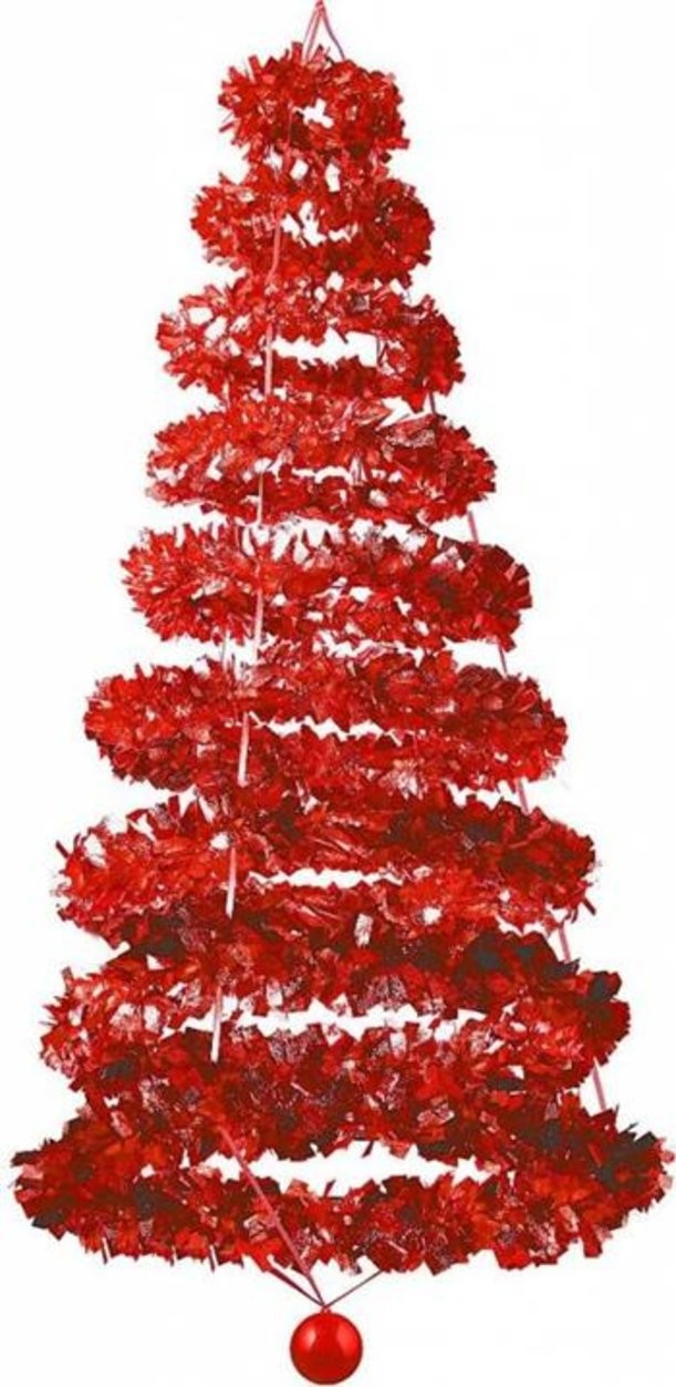 Фольгированное новогоднее украшение