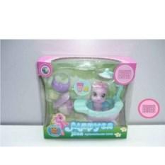 Пластмассовая игрушка Пони в ванночке с аксессуарами