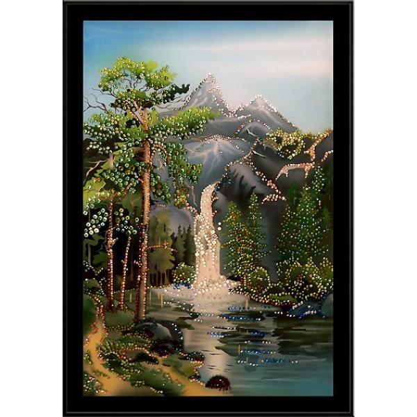 Картина Swarovski Водопад чудес