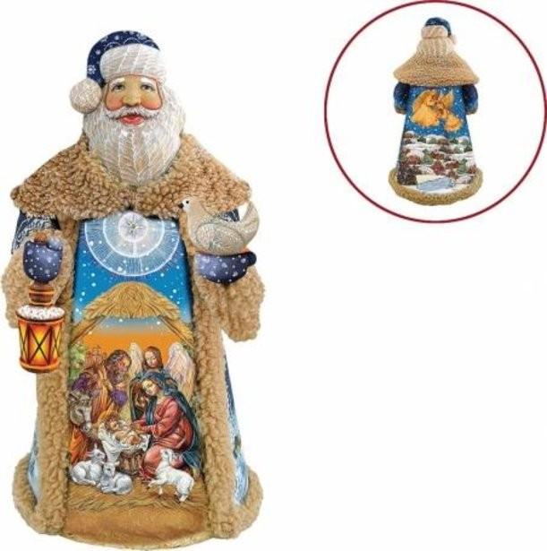 Коллекционная новогодняя игрушка Дед Мороз