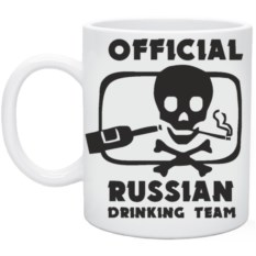 Кружка Official Russian
