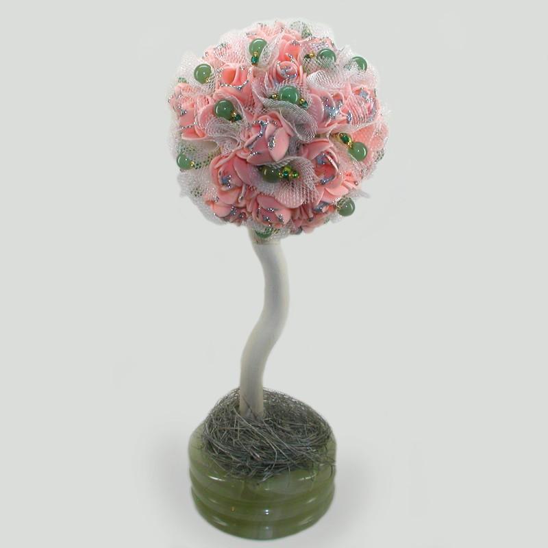 Дерево-топиарий из нефрита Нефритовый рай