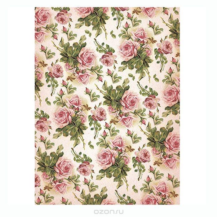 Рисовая бумага для декупажа Craft Premier Шебби розы