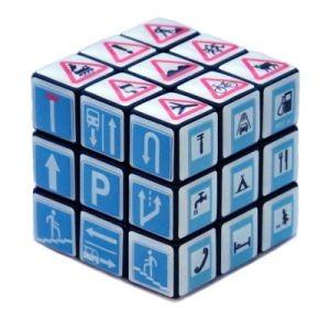 Кубик Рубика «Дорожные знаки»