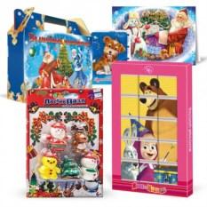 Подарочный набор с волшебным паззлом «Новогодние»