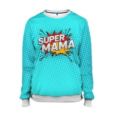 Женский свитшот Супер мама