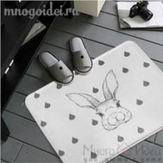 Антискользящий коврик Следуй за белым кроликом