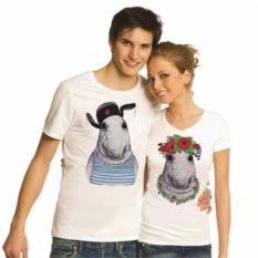 Парные футболки для двоих Ждуны