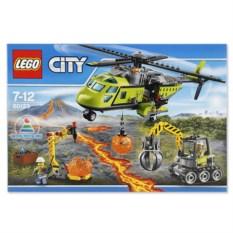 Конструктор Lego City «Грузовой вертолет исслед-ей вулканов»