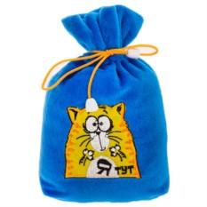 Прикол «Кот в мешке: Я тут!»