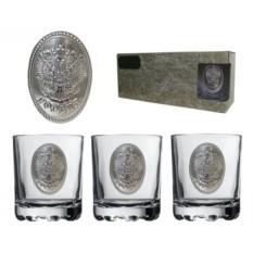 Подарочный набор из 3-х олд-фэшнд Для нашего виски
