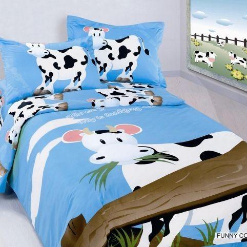 Детское постельное белье Funny Cow