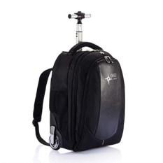 Черный рюкзак на колесах Swiss Peak