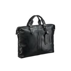 Деловая черная сумка Brialdi Denver