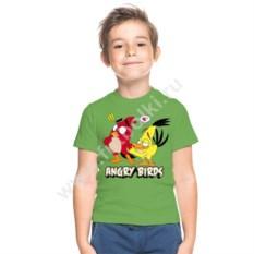 Детская футболка Ред и Чак из angry birds