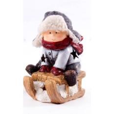 Декоративная фигурка с подсветкой Зимние забавы