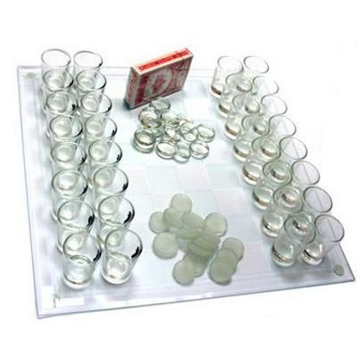 Пьяные шахматы,шашки и карты.