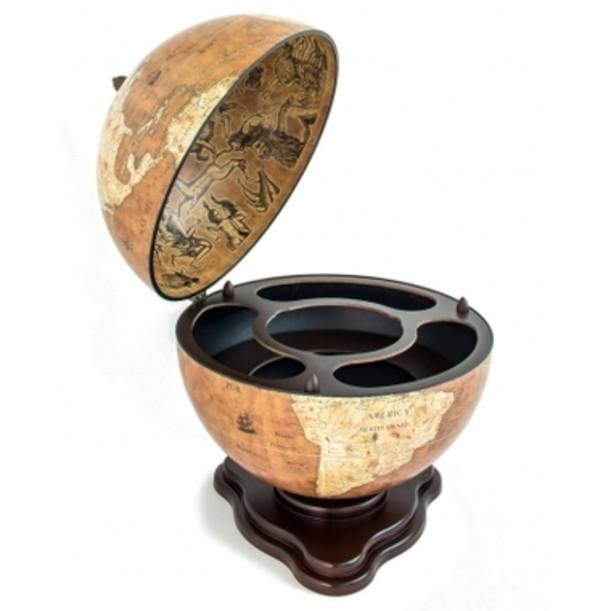 Глобус-бар настольный с картой мира Galileo
