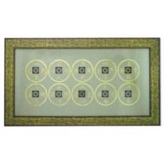 Картина по фэн-шуй 10 старинных монет династии qing