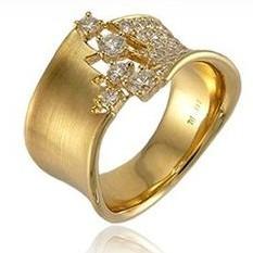Кольцо Mega Gold