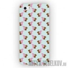 Чехол для iPhone 5 Белочки