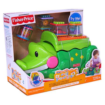 Крокодил с кубиками