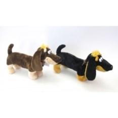 Мягкая игрушка Собачка такса (40 см)