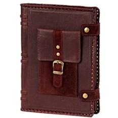Кожаный ежедневник А5 Мобильный карман