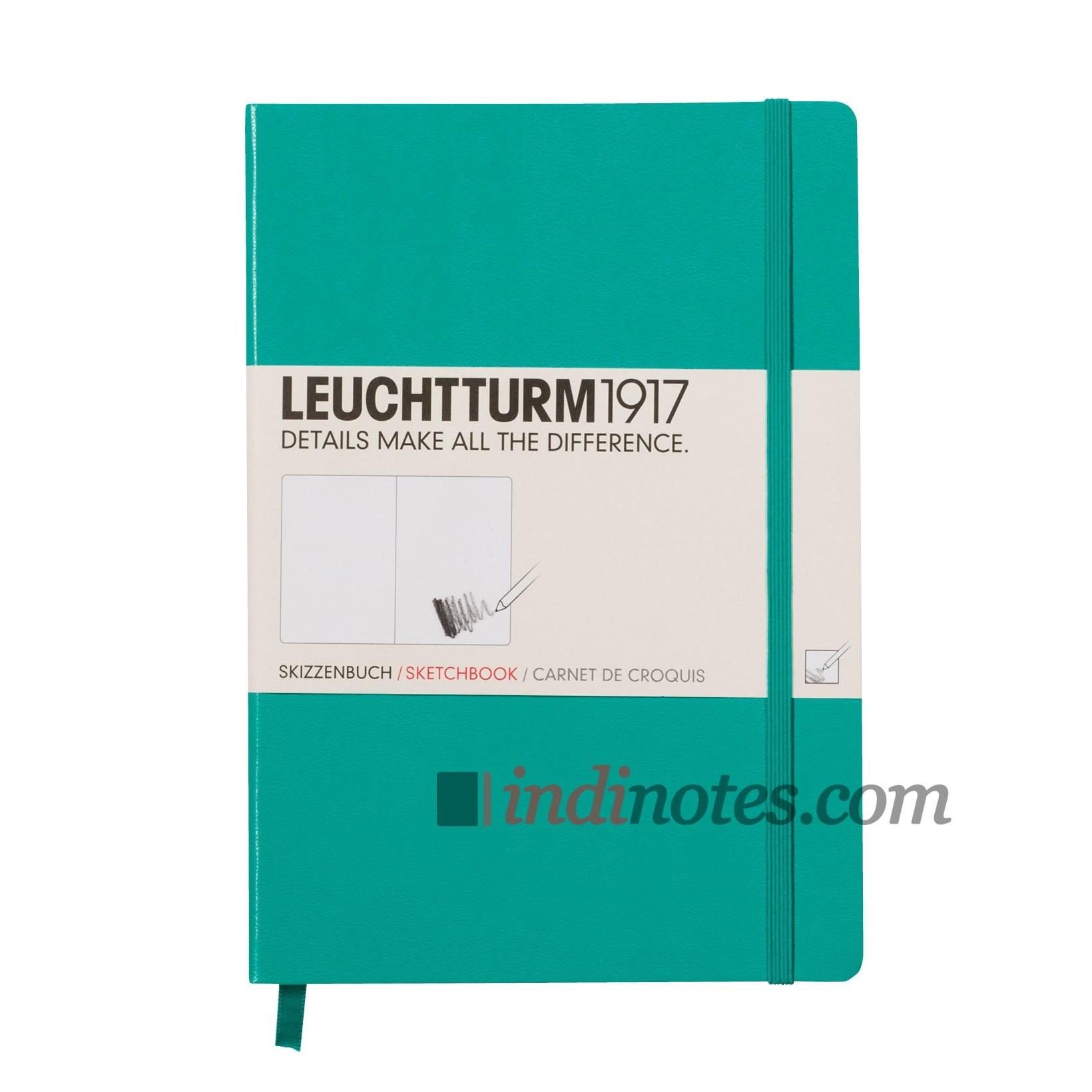 Скетчбук Medium Sketchbook EmeraldLeuchtturm1917
