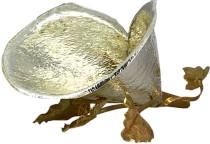 Ваза для конфет, серебряная