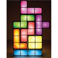 Настольная LED-лампа-головоломка Тетрис