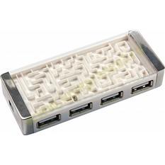 USB HUB на 4 порта Лабиринт