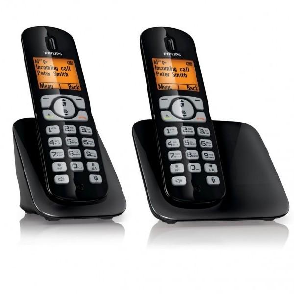 Беспроводной телефон Philips DECT CD2802B/RU