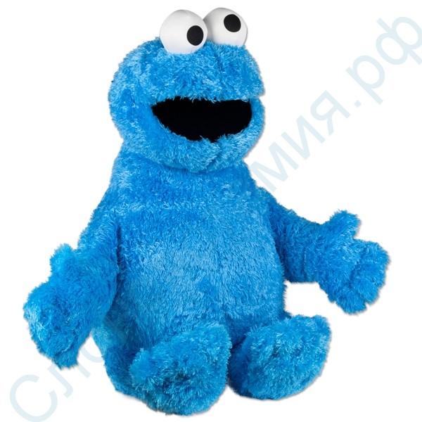 Мягкая игрушка Куки монстр Play Doh Cookie Monster (Коржик из Улицы Сезам)