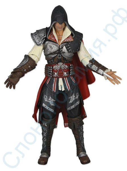 Фигурка Assassin's Creed II Ezio Black