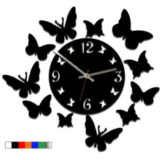 Настенные часы Эффект бабочки