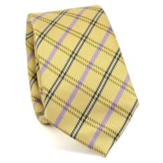 Узкий галстук (клетка)